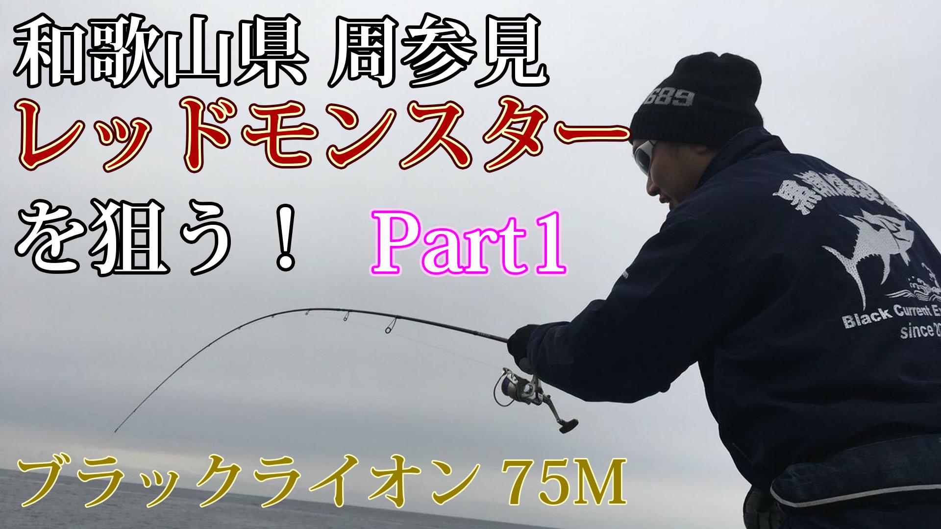 和歌山県 周参見 レッドモンスターを狙う!Part1サムネイル