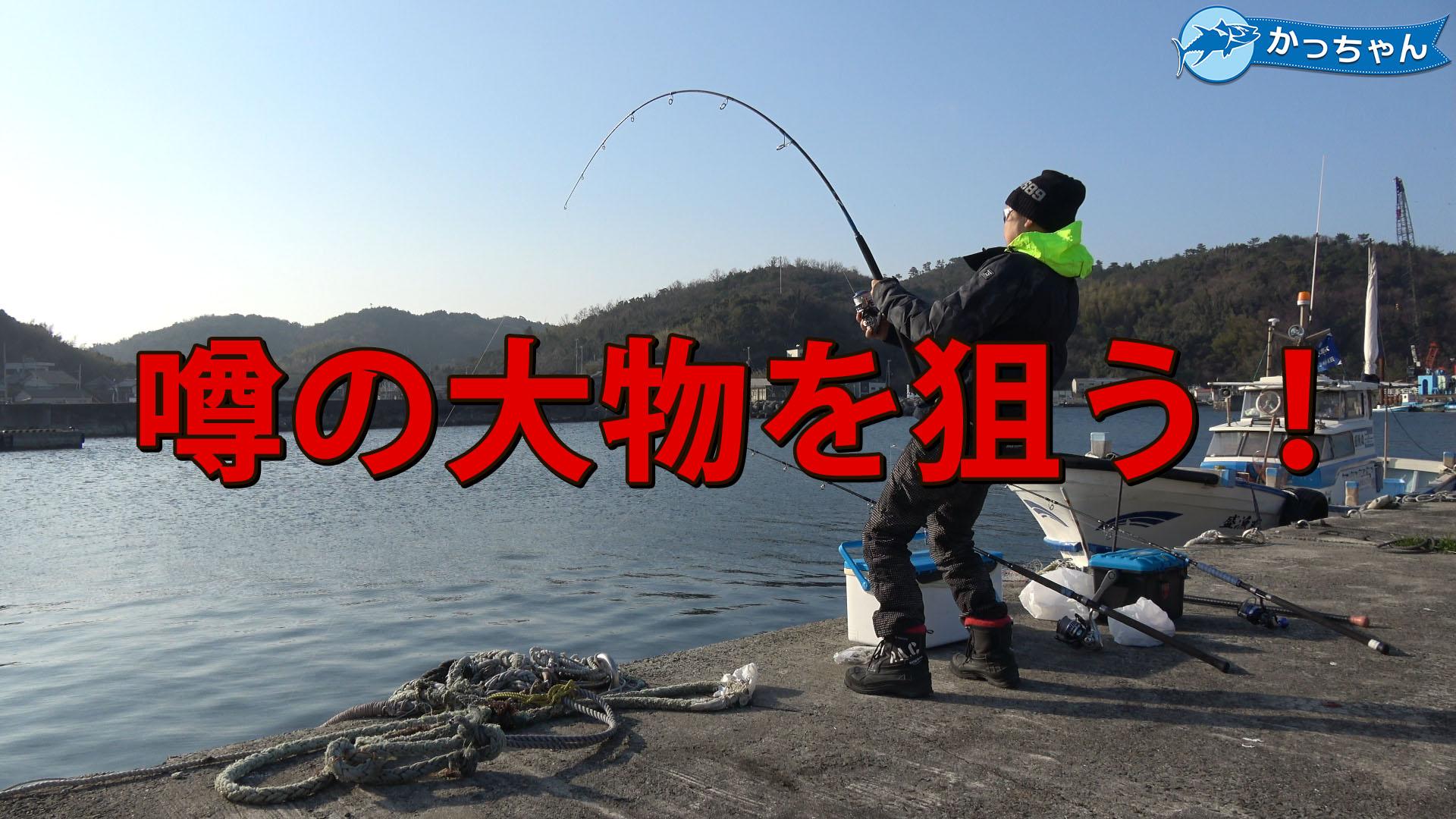 【衝撃】堤防でエビを落とすと釣れるという噂の大物を狙う
