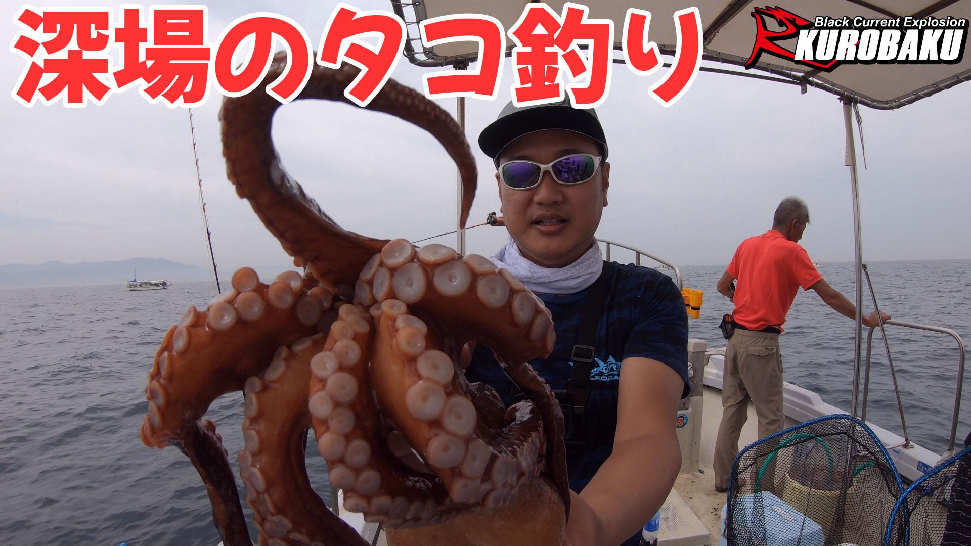 深場のタコ釣りのサムネイル