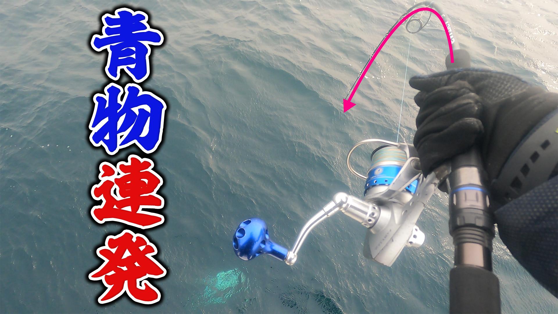 【オフショアジギング】ジギングで青物連発  沼島盛漁丸のサムネイル